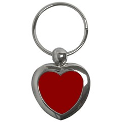 Plain Blue Red Key Chains (heart)  by Jojostore