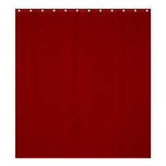 Plain Blue Red Shower Curtain 66  X 72  (large)  by Jojostore