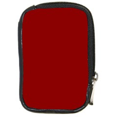 Plain Blue Red Compact Camera Cases by Jojostore