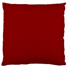 Plain Blue Red Large Cushion Case (one Side)