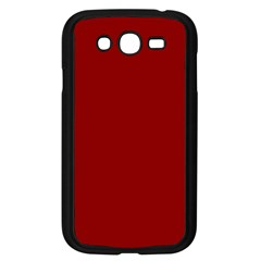 Plain Blue Red Samsung Galaxy Grand Duos I9082 Case (black) by Jojostore