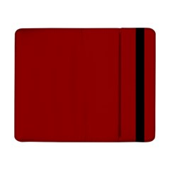Plain Blue Red Samsung Galaxy Tab Pro 8 4  Flip Case by Jojostore