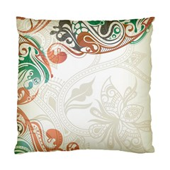Flower Floral Tree Leaf Standard Cushion Case (two Sides) by Jojostore