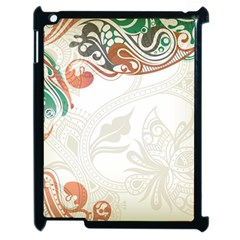 Flower Floral Tree Leaf Apple Ipad 2 Case (black)