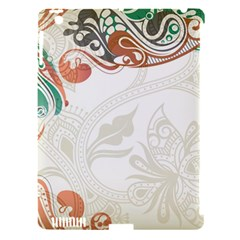 Flower Floral Tree Leaf Apple Ipad 3/4 Hardshell Case (compatible With Smart Cover)