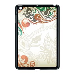 Flower Floral Tree Leaf Apple Ipad Mini Case (black) by Jojostore