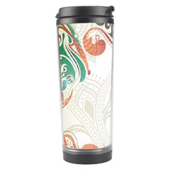 Flower Floral Tree Leaf Travel Tumbler by Jojostore