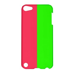 Neon Red Green Apple Ipod Touch 5 Hardshell Case by Jojostore