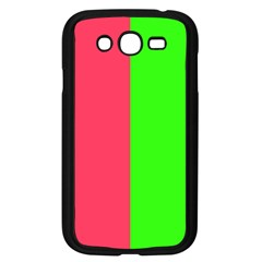 Neon Red Green Samsung Galaxy Grand Duos I9082 Case (black)