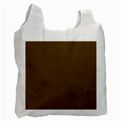 Plain Brown Recycle Bag (one Side)