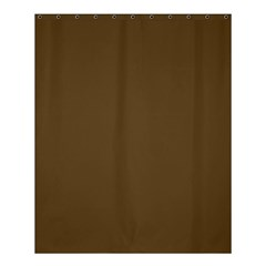 Plain Brown Shower Curtain 60  X 72  (medium)  by Jojostore