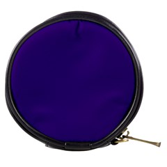 Plain Violet Purple Mini Makeup Bags by Jojostore