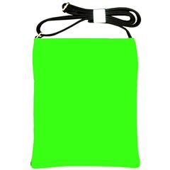 Plain Green Shoulder Sling Bags by Jojostore