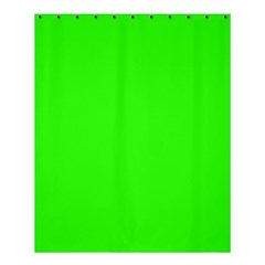 Plain Green Shower Curtain 60  X 72  (medium)  by Jojostore