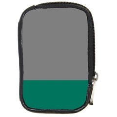 Trolley Grey Green Tropical Compact Camera Cases by Jojostore