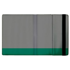 Trolley Grey Green Tropical Apple Ipad 2 Flip Case