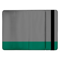 Trolley Grey Green Tropical Samsung Galaxy Tab Pro 12 2  Flip Case by Jojostore