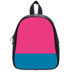Trolley Pink Blue Tropical School Bags (small)  by Jojostore