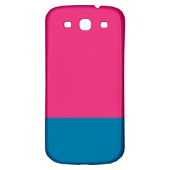 Trolley Pink Blue Tropical Samsung Galaxy S3 S Iii Classic Hardshell Back Case by Jojostore