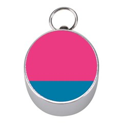 Trolley Pink Blue Tropical Mini Silver Compasses by Jojostore