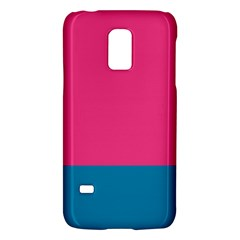 Trolley Pink Blue Tropical Galaxy S5 Mini