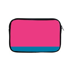 Trolley Pink Blue Tropical Apple Macbook Pro 13  Zipper Case