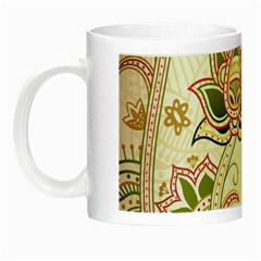 Floral Flower Star Leaf Gold Night Luminous Mugs