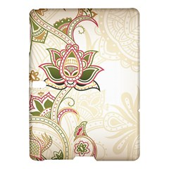 Floral Flower Star Leaf Gold Samsung Galaxy Tab S (10 5 ) Hardshell Case