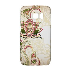 Floral Flower Star Leaf Gold Galaxy S6 Edge by Jojostore