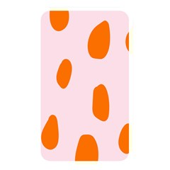 Polka Dot Orange Pink Memory Card Reader