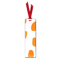 Polka Dot Orange Pink Small Book Marks by Jojostore