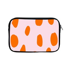 Polka Dot Orange Pink Apple Ipad Mini Zipper Cases by Jojostore