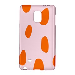 Polka Dot Orange Pink Galaxy Note Edge by Jojostore
