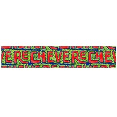 Typographic Graffiti Pattern Flano Scarf (large) by dflcprintsclothing