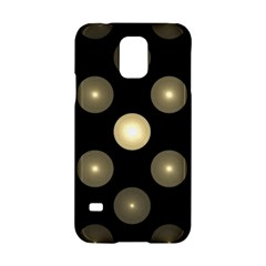 Gray Balls On Black Background Samsung Galaxy S5 Hardshell Case  by Nexatart