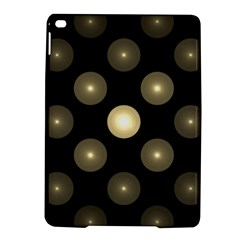 Gray Balls On Black Background Ipad Air 2 Hardshell Cases by Nexatart