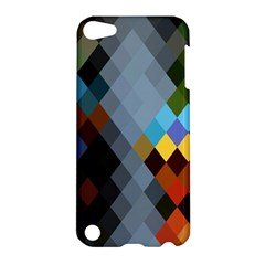 Diamond Abstract Background Background Of Diamonds In Colors Of Orange Yellow Green Blue And More Apple Ipod Touch 5 Hardshell Case