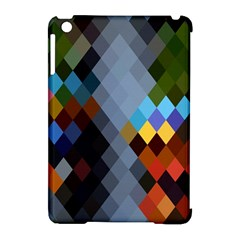 Diamond Abstract Background Background Of Diamonds In Colors Of Orange Yellow Green Blue And More Apple Ipad Mini Hardshell Case (compatible With Smart Cover)