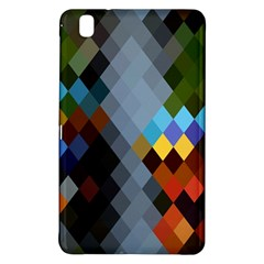 Diamond Abstract Background Background Of Diamonds In Colors Of Orange Yellow Green Blue And More Samsung Galaxy Tab Pro 8 4 Hardshell Case