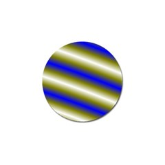 Color Diagonal Gradient Stripes Golf Ball Marker (4 Pack) by Nexatart