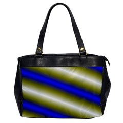 Color Diagonal Gradient Stripes Office Handbags by Nexatart