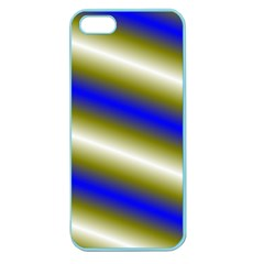 Color Diagonal Gradient Stripes Apple Seamless Iphone 5 Case (color) by Nexatart