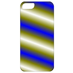 Color Diagonal Gradient Stripes Apple Iphone 5 Classic Hardshell Case by Nexatart
