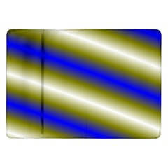 Color Diagonal Gradient Stripes Samsung Galaxy Tab 10 1  P7500 Flip Case by Nexatart