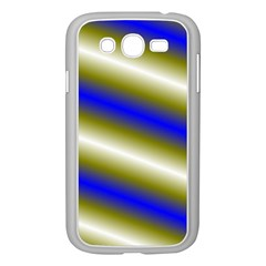 Color Diagonal Gradient Stripes Samsung Galaxy Grand Duos I9082 Case (white) by Nexatart