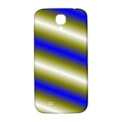 Color Diagonal Gradient Stripes Samsung Galaxy S4 I9500/i9505  Hardshell Back Case by Nexatart