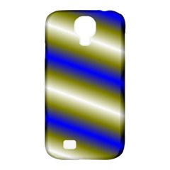 Color Diagonal Gradient Stripes Samsung Galaxy S4 Classic Hardshell Case (pc+silicone) by Nexatart