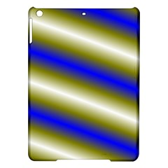 Color Diagonal Gradient Stripes Ipad Air Hardshell Cases