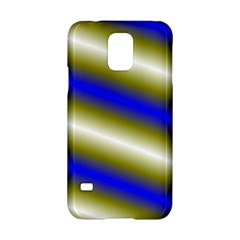 Color Diagonal Gradient Stripes Samsung Galaxy S5 Hardshell Case  by Nexatart