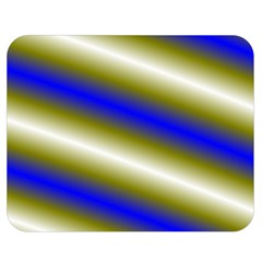 Color Diagonal Gradient Stripes Double Sided Flano Blanket (medium)  by Nexatart